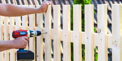 A Guide to Wood Fence Installation, Including Tools & Building Materials, Greenbrier, Arkansas