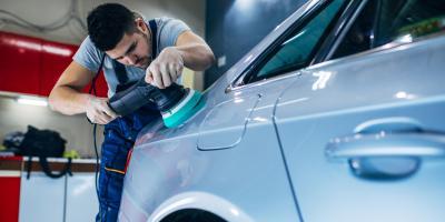 5 Common Sources of Damage for Auto Body Paint, Groton, Connecticut