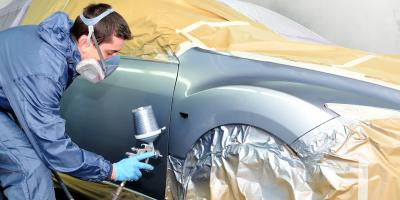 Typical Auto Body Painting Issues & Fixes, Hopkins, Minnesota