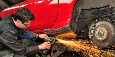 3 Types of Auto Body Repairs, Waynesboro, Virginia