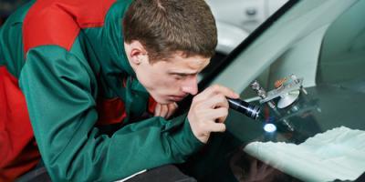 An Auto Care Center Discusses Glass Repair vs. Replacement, Springfield, Ohio