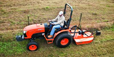 3 Tips to Boost Productivity When Using a Bush Hog, Winder, Georgia