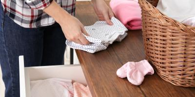 3 Tips for Folding Baby Clothes, Dothan, Alabama
