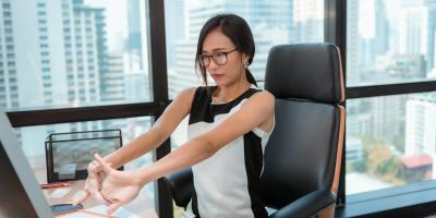 5 Desk Stretches to Ease Back & Neck Pain, Montvale, New Jersey