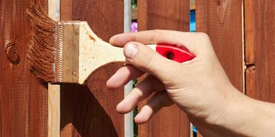 How to Perfectly Stain Cedar Fencing, Islip, New York