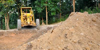 Why Land Grading Is a Professional Job, Bayfield, Wisconsin