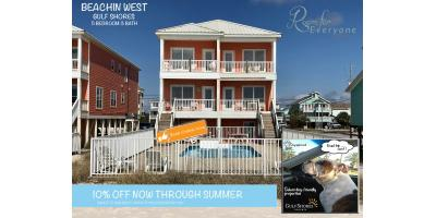 BEACHIN WEST - 10% OFF, Gulf Shores, Alabama