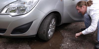 How Do Potholes Form? , Bloomfield, Connecticut
