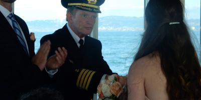 Why a Charter Boat Makes a Great Small Wedding Venue, Berkeley, California