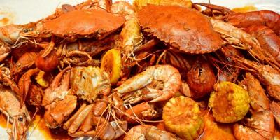 Celebrate National Seafood Month , Bon Secour, Alabama