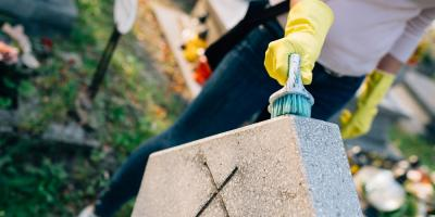 How to Keep Gravestones Clean, Bolivar, Missouri