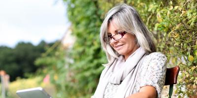 Silver Hair Color Is the Latest Beauty Trend, Boston, Massachusetts