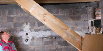 What You Should Know About Bowed Walls in the Basement, Lexington-Fayette Northeast, Kentucky