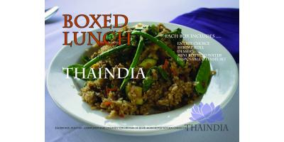 Boxed Lunch with THAINDIA, Las Cruces, New Mexico