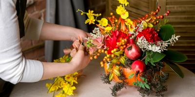 A Guide to Thanksgiving Flower Arrangements, Branford Center, Connecticut