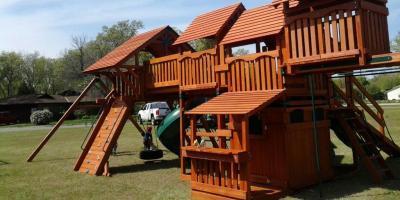 3 Ways to Protect a Backyard Play Set in Winter, Urbandale, Iowa