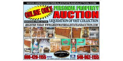 Online Auction ENDING TOMMORROW!!, Covington, Virginia