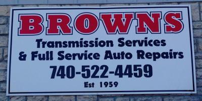 Brown's Transmission's Oil Change Services, Newark, Ohio