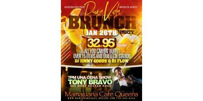 PURA VIDA BRUNCH PARTY - JAN 26- MAMAJUANA CAFE QUEENS , New York, New York