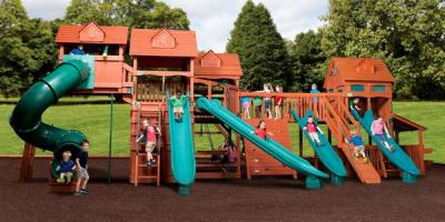 3 Benefits of a Wooden Playset, Urbandale, Iowa