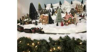 Free Christmas Train Display!, West Chester, Ohio