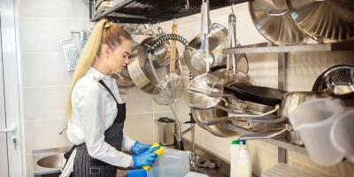 4 Steps to Clean Stainless Steel Cooking Equipment, Campbellsville, Kentucky
