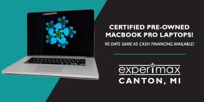 "Deal of the Week: 15"" MacBook Pro Retina $999 1-YR Warranty, Canton, Michigan"