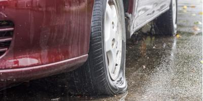 Can You Drive With a Flat Tire?, Kalispell, Montana