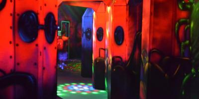 Laser Tag Vs. Paintball, North Hempstead, New York