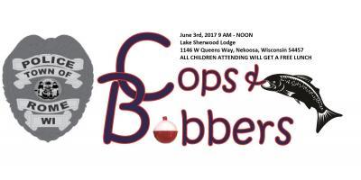 Cops & Bobbers June 3rd, 2017 in Rome, WI, Nekoosa, Wisconsin