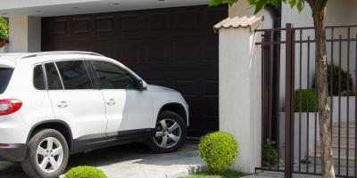 4 Tasks to Perform After the Garage Door Is Hit by a Car, Ballwin, Missouri