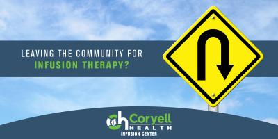 Travel Costs Are Rising- Coryell Health Infusion Center Can Help, Gatesville, Texas