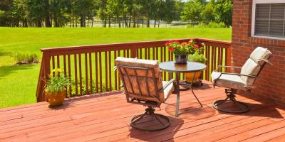 Benefits of Cedar & Vinyl Decks, Chesterfield, Missouri