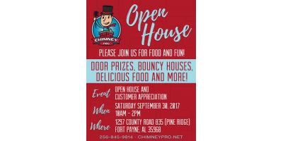 Customer Appreciation and Open House, Pine Ridge, Alabama