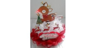 Cake Topper Handmade Rudolph the Red Nosed Reindeer , Xenia, Ohio