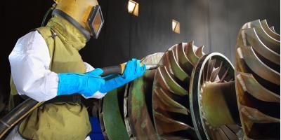 How to Choose the Best Abrasive Material for Sandblasting, Cincinnati, Ohio