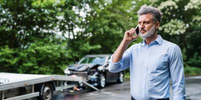 4 Steps to Take After Getting Into a Car Accident, Blue Ash, Ohio