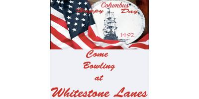 Happy Columbus Day From Whitestone Lanes, Queens, New York