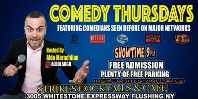 Whitestone Bowling Lanes Comedy Thursday Come Laugh and Play, Queens, New York