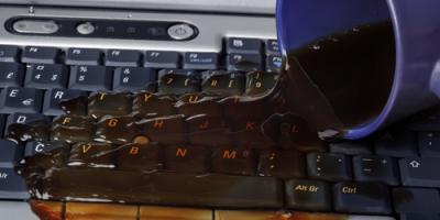 4 Do's & Don'ts When You Spill Liquid On a Laptop, Parkville, Maryland