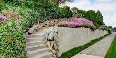 4 Uses of Concrete Retaining Walls on Your Property, Sherman, West Virginia