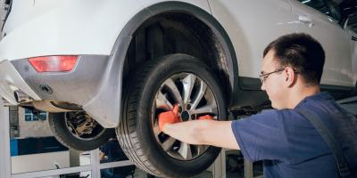 3 Common Causes of Wheel Damage, Waterbury, Connecticut