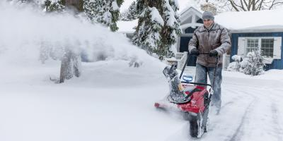 3 Tips for Using a Snow Blower, Monroe, Connecticut