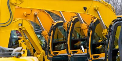 Top 5 Reasons to Rent Construction Equipment for a Project, Franklinville, New York