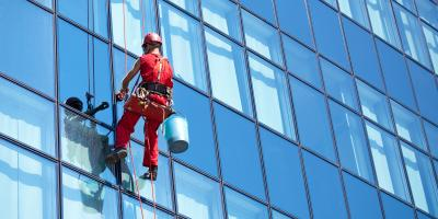 3 Advantages of Commercial Window Washing, O'Fallon, Missouri