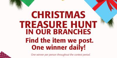 Christmas Treasure Hunt, Honolulu, Hawaii