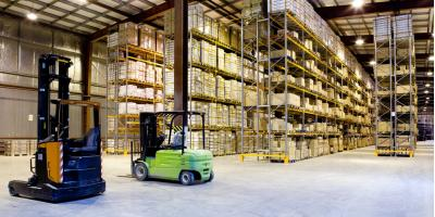 A Shipping Company's Overview of Contract Warehouses, Blue Ash, Ohio