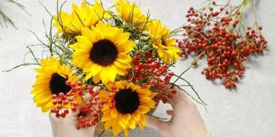 Why You Should Decorate Your Home With Fresh, Summer Flowers, Palo Alto, California