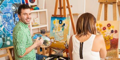 5 Reasons Why Wine Painting Parties Make the Perfect Date Night, Maryland Heights, Missouri