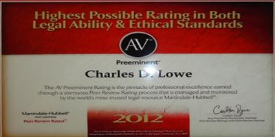 ​Charles D Lowe: A General Practice Attorney With an Unceasing Commitment to Excellence, Washington, Ohio